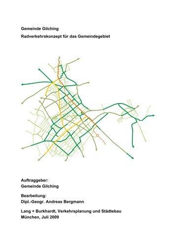 Gemeinde Gilching Radverkehrskonzept für das Gemeindegebiet ...