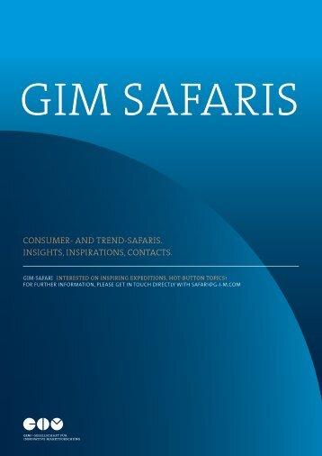 GIM Safaris 2013