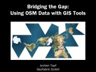 Bridging the Gap: Using OSM Data with GIS Tools - Geofabrik