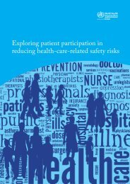 Exploring patient participation in reducing health-care-related safety risks
