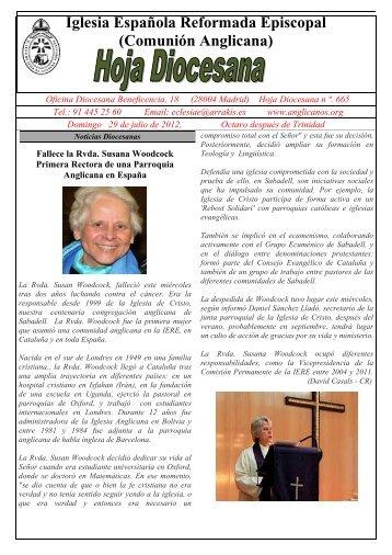 Iglesia Española Reformada Episcopal (Comunión Anglicana)