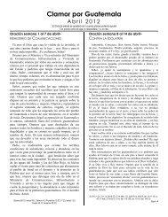 Descargar boletín FEBRERO 2013 (pdf) - Clamemos