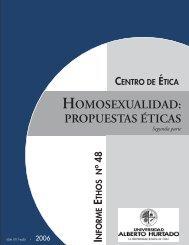 HOMOSEXUALIDAD: PROPUESTAS ÉTICAS