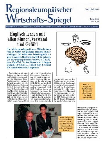 Englisch lernen mit allen Sinnen, Verstand und Gefühl - GIT Seminare