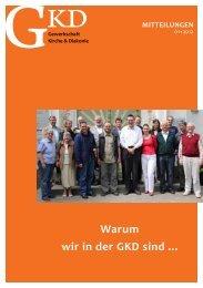 Mitteilungen 1-12.pdf - GKD - Gewerkschaft Kirche und Diakonie