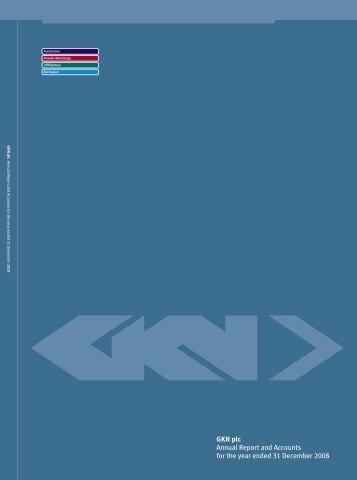 Annual Report 2008 in PDF - GKN