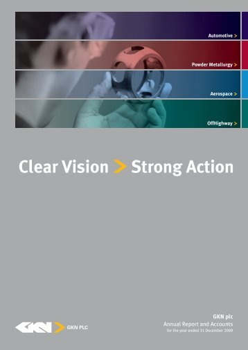 Annual Report 2009 in PDF - GKN