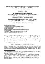 Anlagen 1-5 16082011 - GKV-Spitzenverband
