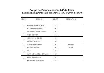 Finale coupe de france jeunes saut sp cial les r sultats - Resultat de coupe de france en direct ...