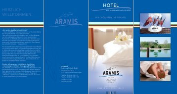 Hotelbroschüre - Hotel Aramis
