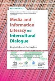 Media and Information Literacy Intercultural Dialogue