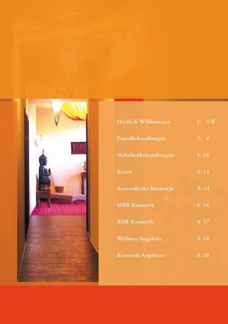 Mehrfachbehandlungen S. 10 ... - Hotel Am Kurhaus