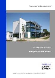 Vortragsveranstaltung Energieeffizentes Bauen - graf architekten ...
