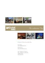 Ihr schönster Tag - Hotel Heidelberg, arthotel Heidelberg