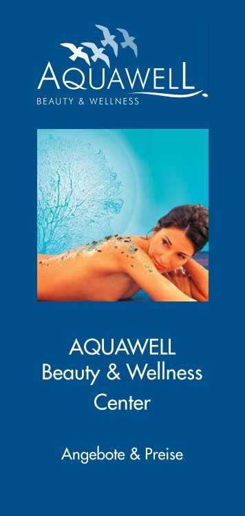 Wellness-Broschüre (PDF) - Aquamaris Strandresidenz Rügen