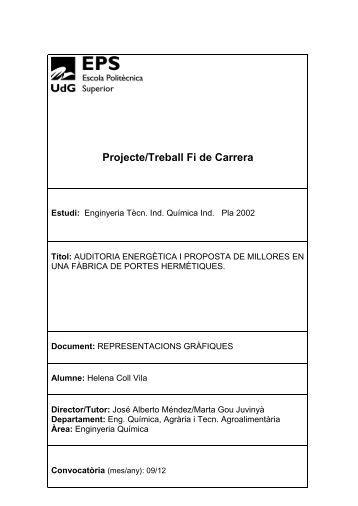 Projecte/Treball Fi de Carrera - UdG