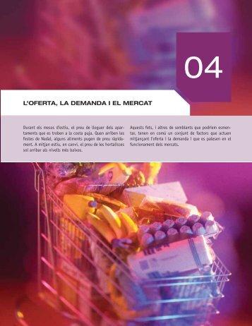 4. l'oferta, la demanda i el mercat - McGraw-Hill