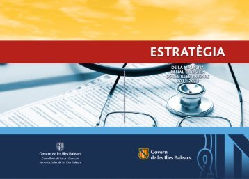 Estratègia Malaltia Renal Crònica - Govern de les Illes Balears