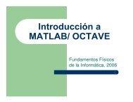 Introducción a MATLAB/ OCTAVE - DTIC