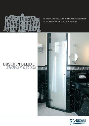 DUSCHEN DELUXE SHOWER DELUXE - KL-Megla GmbH
