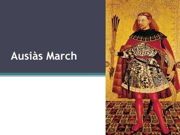 Ausiàs March (Gandia, 1397- València, 1459) - materdeivalencia