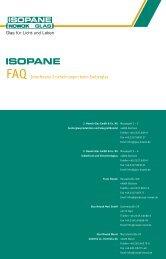 FAQ Interferenz-Erscheinungen beim Isolierglas