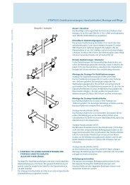 STRATEGO (Stabilisationsstangen, Handtuchhalter): Montage und ...