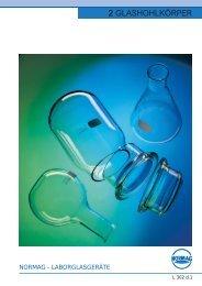 2 GLASHOHLKÖRPER - Glastechnik Rahm