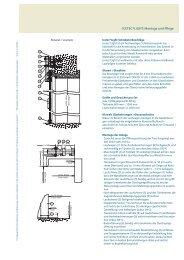 ICETEC®LIGHT: Montage und Pflege