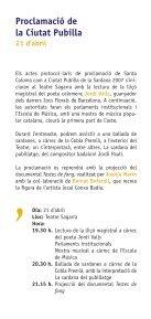 La sardana - Ajuntament de Santa Coloma de Gramenet - Page 6