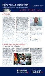 Blickpunkt Bielefeld - Bielefeld Marketing Gmbh