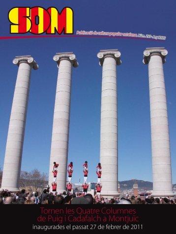 Tornen les Quatre Columnes de Puig i Cadafalch a ... - Garonuna