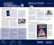 Blickpunkt 2/2005 - Bielefeld Marketing Gmbh