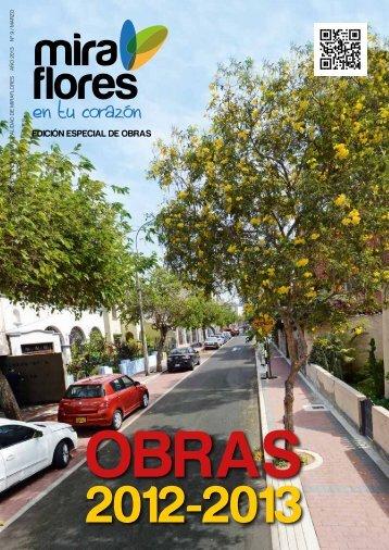 edición especial de Obras - Municipalidad de Miraflores