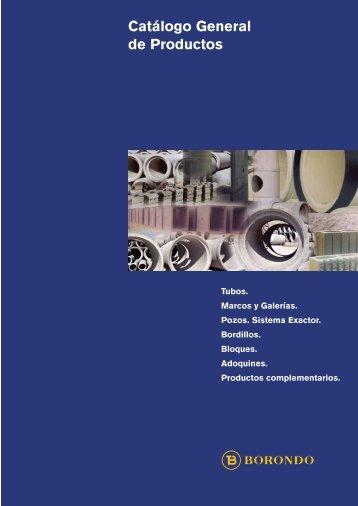 Catálogo General de Productos - Borondo