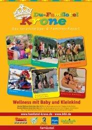 Wellness mit Baby und Kleinkind - Du-Familotel Krone