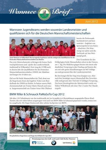 Wannsee Brief Juni 2012 - Der Golf- und Land-Club  Berlin ...