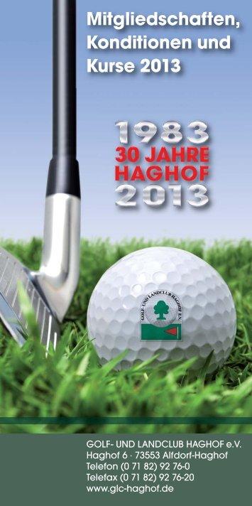 Clubhaus - Golf- und Landclub Haghof