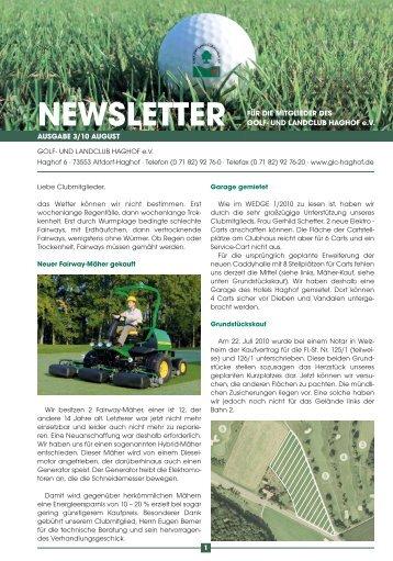 Newsletter 3_10 green_Newsletter - Golf- und Landclub Haghof
