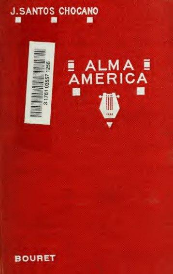 Alma américa, poemas indo-españoles