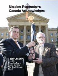 Ukraine Remembers Canada Acknowledges - Holodomor