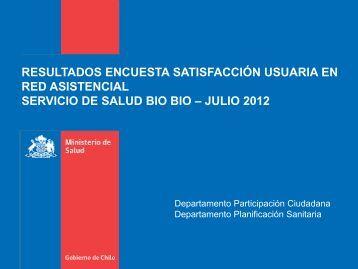 presentacion resultados encuesta satisfaccion usuaria - Servicio de ...