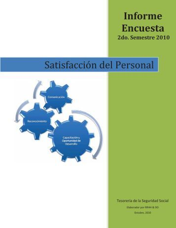 Informe Encuesta Satisfacción del Personal - TSS