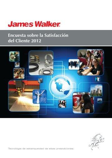 Encuesta sobre la Satisfacción del Cliente 2012 - James Walker