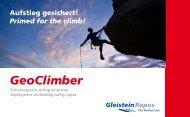 Download GeoClimber Anleitung - Gleistein