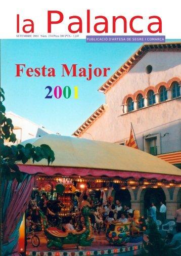 Festa Major 2001 - La Palanca