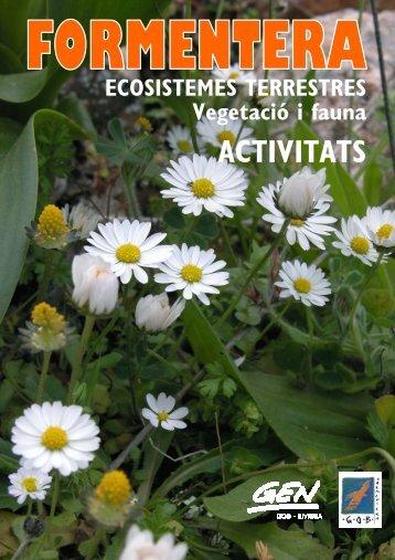 Ecosistemes terrestres, vegetació i fauna - GEN-GOB Eivissa