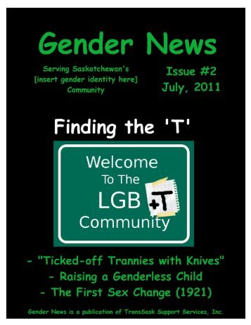 Gender News, issue 2 - July 2011 - Access Communications