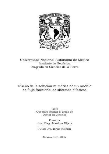 Martínez Nájera Juan Diego - Centro de Geociencias ::.. UNAM