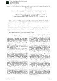 MODELAGEM BILINEAR E CONTROLE PREDITIVO DE ... - Fei